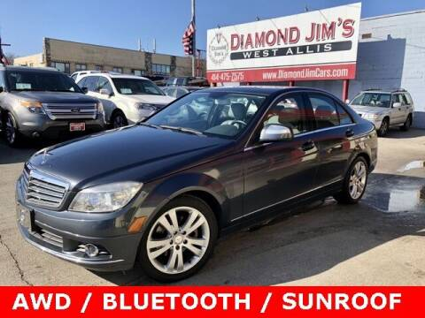 2008 Mercedes-Benz C-Class for sale at Diamond Jim's West Allis in West Allis WI