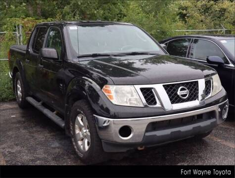 2011 Nissan Frontier for sale at BOB ROHRMAN FORT WAYNE TOYOTA in Fort Wayne IN