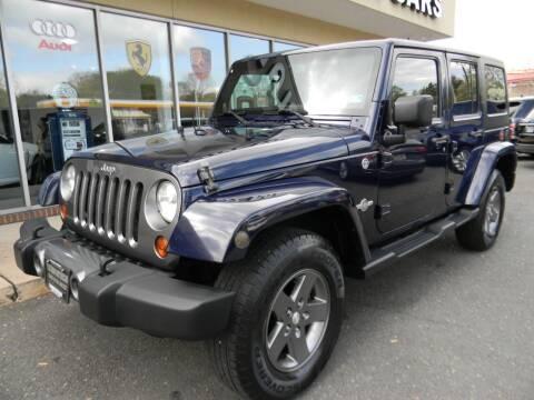 2013 Jeep Wrangler Unlimited for sale at Platinum Motorcars in Warrenton VA