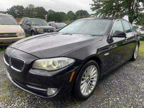 2011 BMW 5 Series for sale at ATLANTA AUTO WAY in Duluth GA