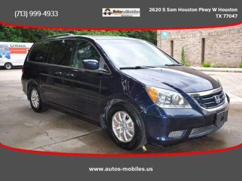 2010 Honda Odyssey for sale at AUTOS-MOBILES in Houston TX