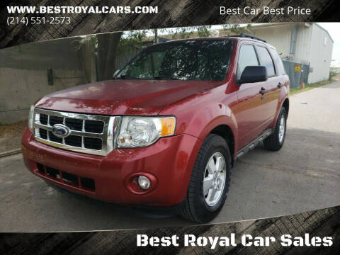 2012 Ford Escape for sale at Best Royal Car Sales in Dallas TX