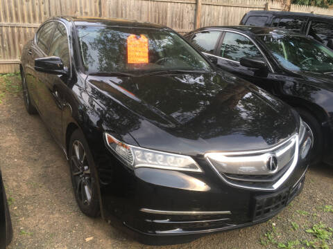 2015 Acura TLX for sale at MELILLO MOTORS INC in North Haven CT
