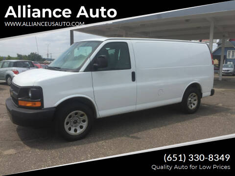 2014 Chevrolet Express Cargo for sale at Alliance Auto in Newport MN