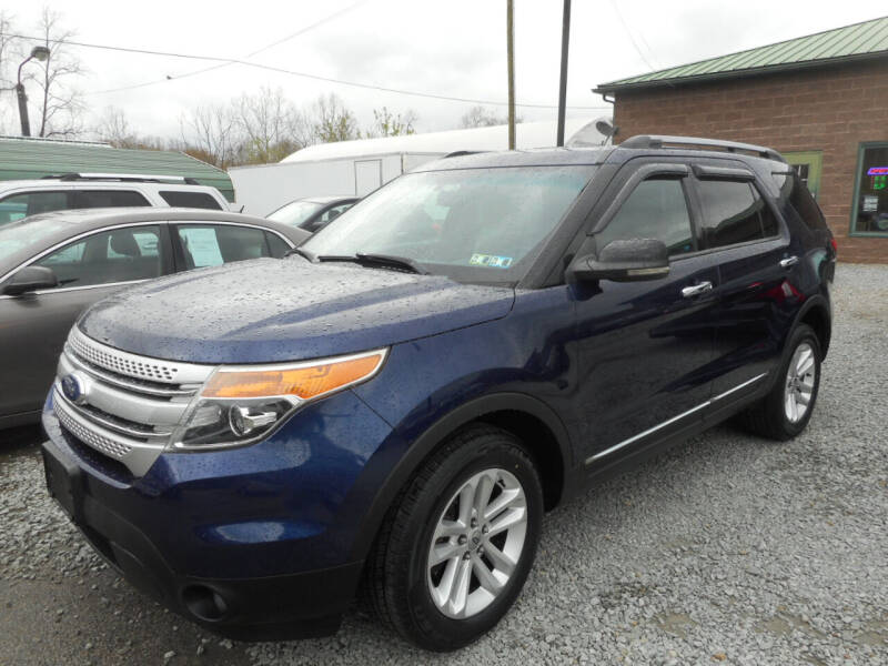 2011 Ford Explorer for sale at Sleepy Hollow Motors in New Eagle PA