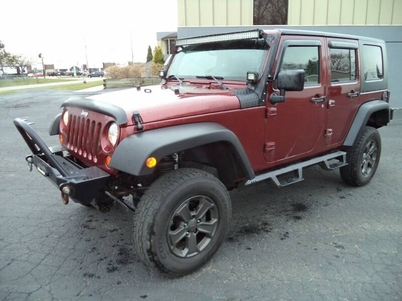 2008 Jeep Wrangler Unlimited for sale at Niewiek Auto Sales in Grand Rapids MI