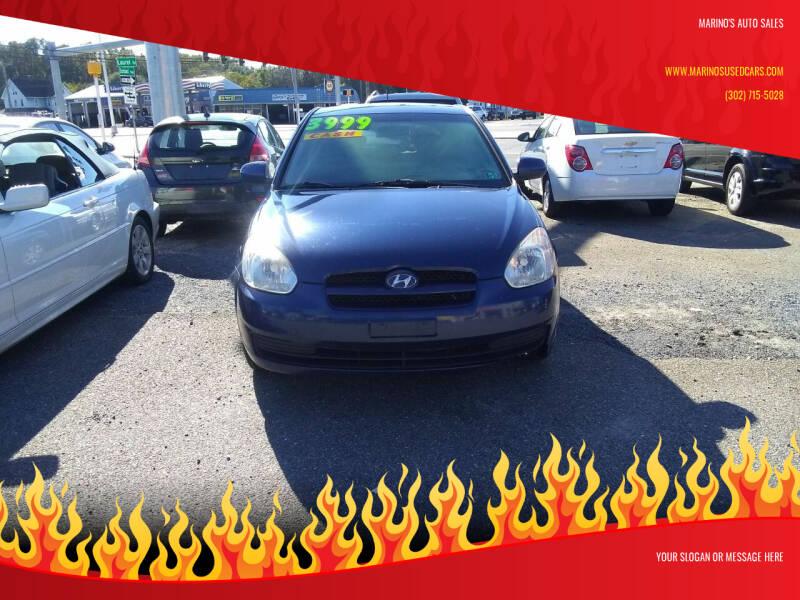 2010 Hyundai Accent for sale at Marino's Auto Sales in Laurel DE