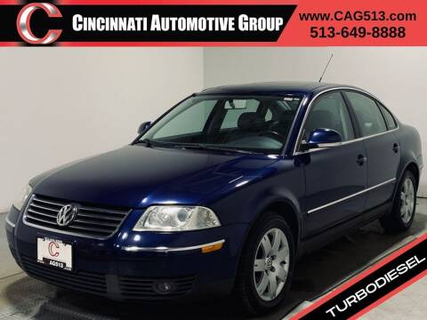 2005 Volkswagen Passat for sale at Cincinnati Automotive Group in Lebanon OH