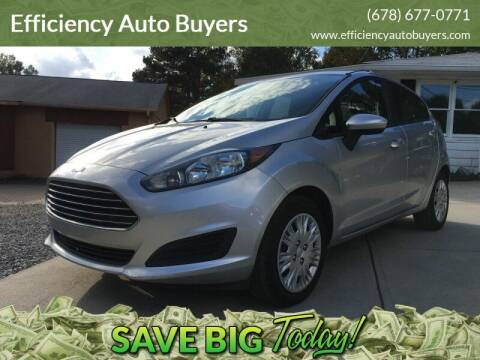 2016 Ford Fiesta for sale at Efficiency Auto Buyers in Milton GA