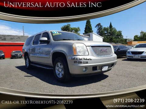 2007 GMC Yukon XL for sale at Universal Auto Sales Inc in Salem OR