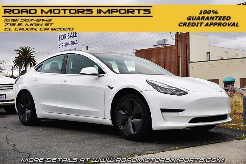 2020 Tesla Model 3 for sale in El Cajon, CA