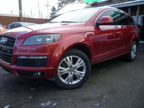 2009 Audi Q7 for sale at Sindibad Auto Sale, LLC in Englewood CO