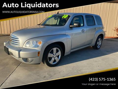 2010 Chevrolet HHR for sale at Auto Liquidators in Bluff City TN