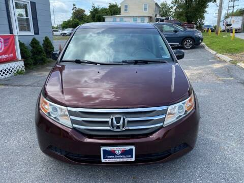 2012 Honda Odyssey for sale at Fuentes Brothers Auto Sales in Jessup MD