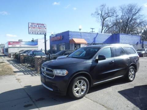 2012 Dodge Durango for sale at City Motors Auto Sale LLC in Redford MI