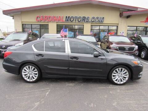 2015 Acura RLX for sale at Cardinal Motors in Fairfield OH