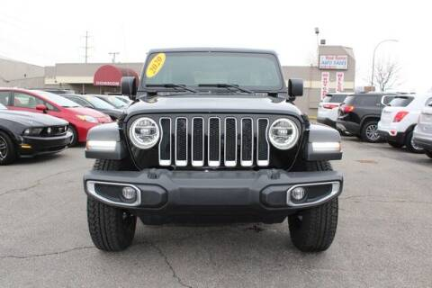 2020 Jeep Wrangler Unlimited for sale at Road Runner Auto Sales WAYNE in Wayne MI