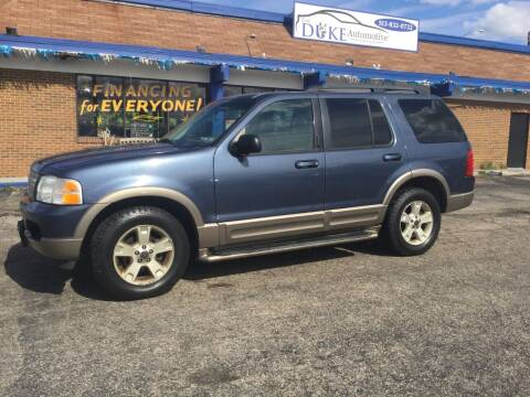 2003 Ford Explorer for sale at Duke Automotive Group in Cincinnati OH