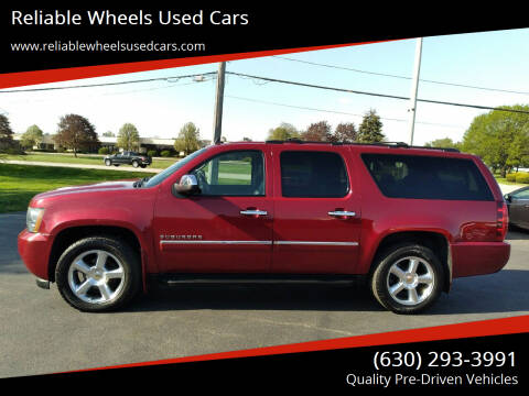 2011 Chevrolet Suburban for sale at Reliable Wheels Used Cars in West Chicago IL