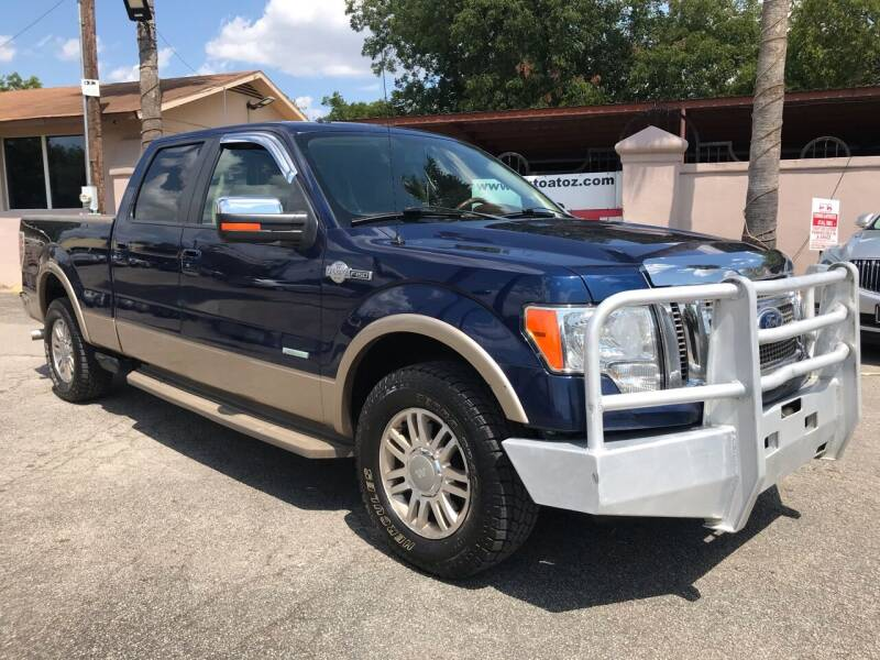 2012 Ford F-150 for sale at Auto A to Z / General McMullen in San Antonio TX