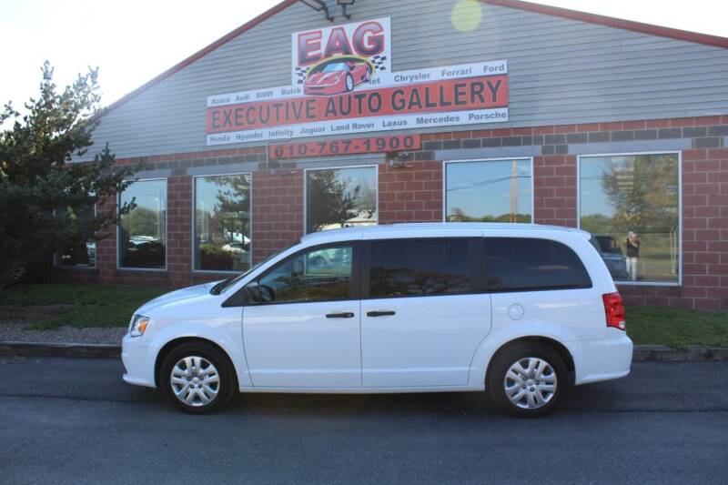 2019 Dodge Grand Caravan for sale at EXECUTIVE AUTO GALLERY INC in Walnutport PA