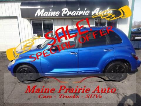 2005 Chrysler PT Cruiser for sale at Maine Prairie Auto INC in Saint Cloud MN