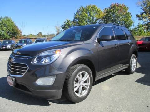 2016 Chevrolet Equinox for sale at Percy Bailey Auto Sales Inc in Gardiner ME