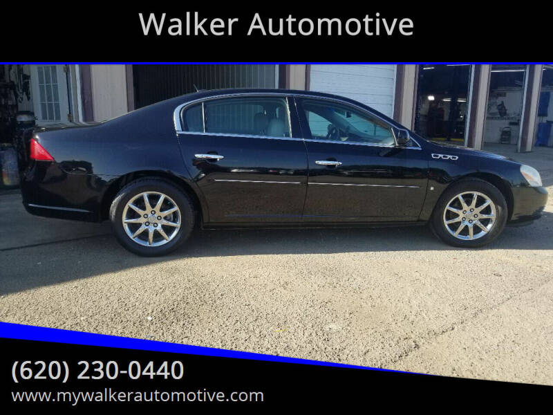 2007 Buick Lucerne for sale at Walker Automotive in Frontenac KS