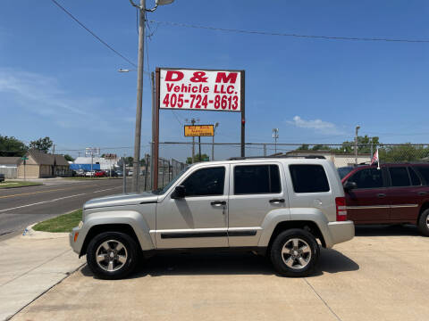 2008 Jeep Liberty for sale at D & M Vehicle LLC in Oklahoma City OK