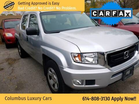2011 Honda Ridgeline for sale at Columbus Luxury Cars in Columbus OH