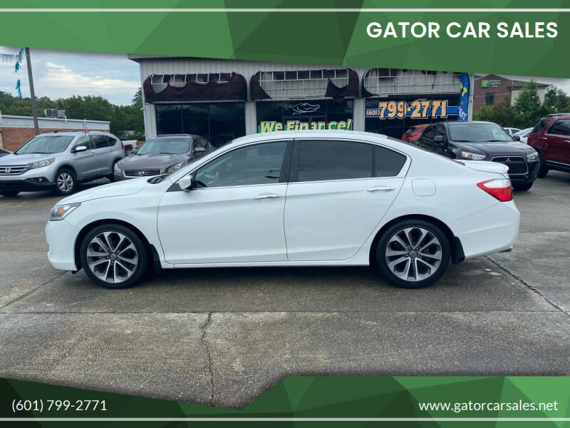 2015 Honda Accord for sale at Gator Car Sales in Picayune MS