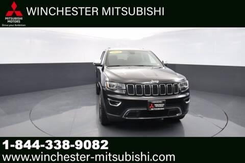 2018 Jeep Grand Cherokee for sale at Winchester Mitsubishi in Winchester VA