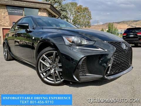 2020 Lexus IS 350 for sale at TJ Chapman Auto in Salt Lake City UT