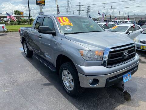 2010 Toyota Tundra for sale at Texas 1 Auto Finance in Kemah TX