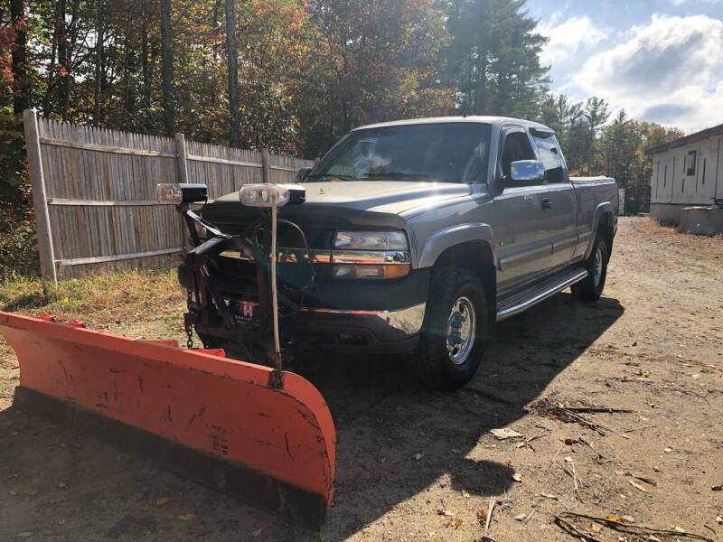 2002 Chevrolet Silverado 2500HD for sale at Hornes Auto Sales LLC in Epping NH
