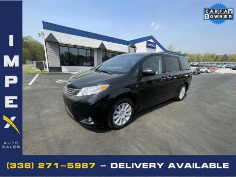 2017 Toyota Sienna for sale at Impex Auto Sales in Greensboro NC