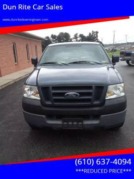 2005 Ford F-150 for sale at Dun Rite Car Sales in Downingtown PA