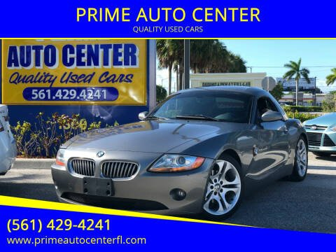 2004 BMW Z4 for sale at PRIME AUTO CENTER in Palm Springs FL