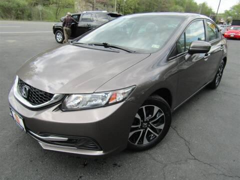2015 Honda Civic for sale at Guarantee Automaxx in Stafford VA