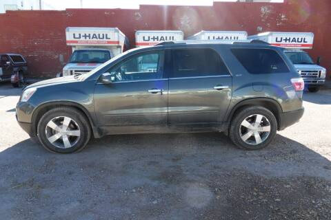 2011 GMC Acadia for sale at Paris Fisher Auto Sales Inc. in Chadron NE