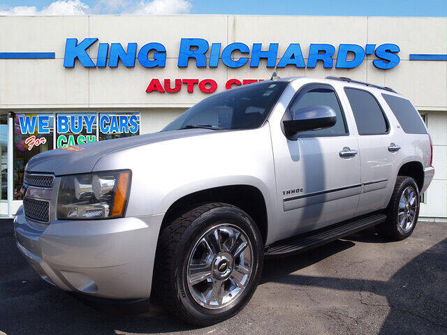 2010 Chevrolet Tahoe for sale at KING RICHARDS AUTO CENTER in East Providence RI