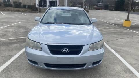 2007 Hyundai Sonata for sale at 411 Trucks & Auto Sales Inc. in Maryville TN
