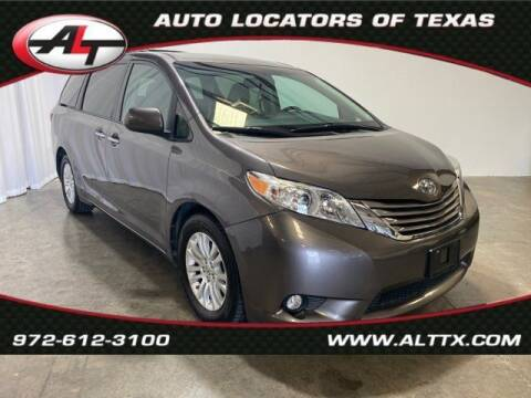 2015 Toyota Sienna for sale at AUTO LOCATORS OF TEXAS in Plano TX