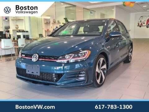 2018 Volkswagen Golf GTI for sale at Boston Volkswagen in Watertown MA