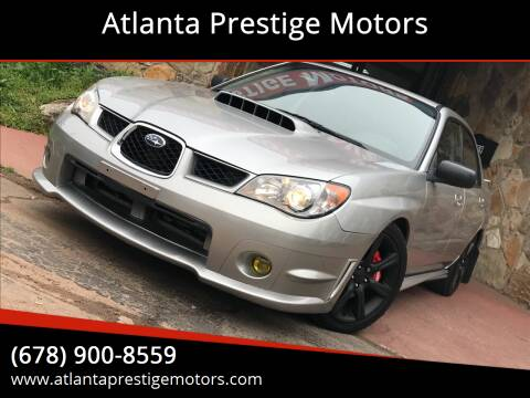 2006 Subaru Impreza for sale at Atlanta Prestige Motors in Decatur GA