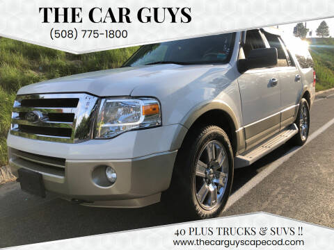 2010 Ford Expedition for sale at The Car Guys in Hyannis MA