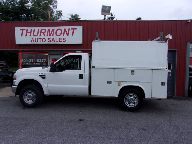 2010 Ford F-250 Super Duty for sale at THURMONT AUTO SALES in Thurmont MD