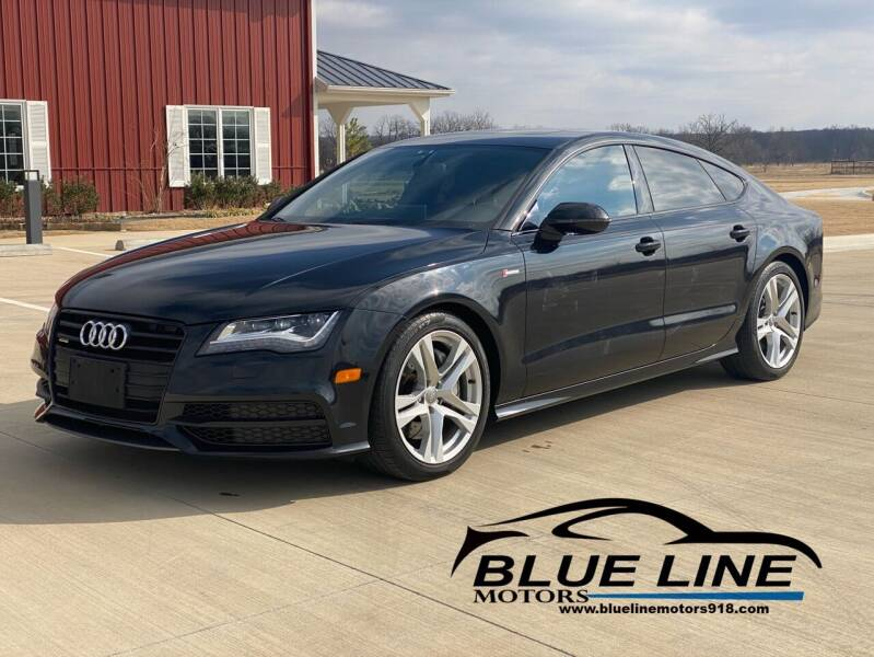 2014 Audi A7 for sale at Blue Line Motors in Bixby OK