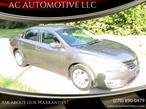 2015 Nissan Altima for sale at AC AUTOMOTIVE LLC in Hopkinsville KY