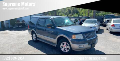 2005 Ford Expedition for sale at Supreme Motors in Tavares FL